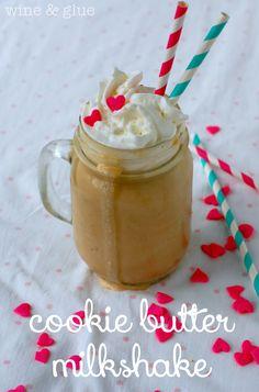 Cookie Butter Milkshake on MyRecipeMagic.com