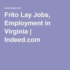 frito lay jobs employment in virginia indeedcom - Frito Lay Merchandiser Sample Resume