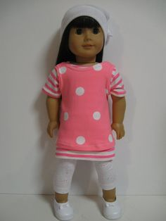 American Girl Doll Clothes Red/Floral by 123MULBERRYSTREET on Etsy, $29.00