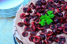 Harry and David's Cherry Nutella Pavlova via @Sandy Coughlin | Reluctant Entertainer.com