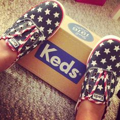 Keds Fourth of July.