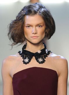 Lace detached collar (Rodarte)