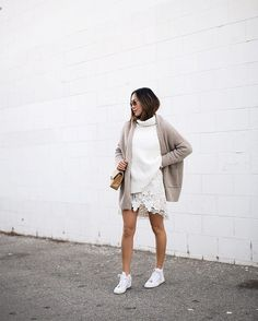 Neutral Outfit Inspiration / street style 2016