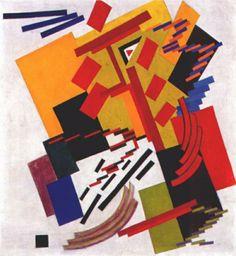 Kazimir Malevich, Suprematism, avant garde art