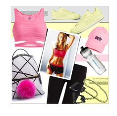 """Sportswear"" by firstboutique ❤ liked on Polyvore featuring Phat Buddha, Lipsy, workout and sportswear"