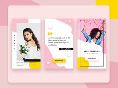 Insta Stories designed by Yana . Connect with them on Dribbble; Social Media Ad, Social Media Banner, Social Media Template, Social Media Design, Story Instagram, Instagram Design, Instagram Story Template, Instagram Feed, Instagram Templates