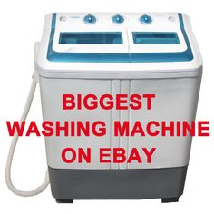 Manatee Portable Small Compact mini Washing Machine Washer 5.0KG15lbs larger one #Manatee
