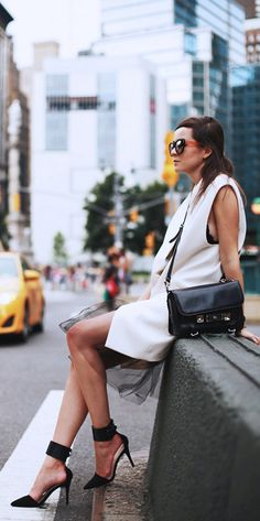 Stylish and sophisticated // #NYFW #StreetStyle