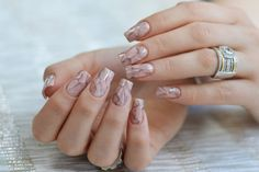 The New Marble #Nail #Art #Trend To Rock This Year!