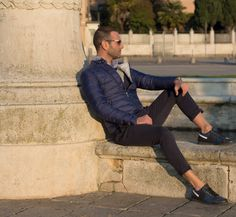 Stefano Zulian per Jubo Fashion Man Male winter style
