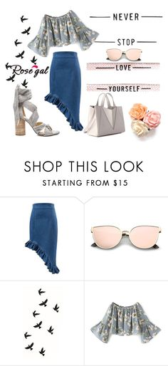 """""""Never stop love your self!!"""" by mercija ❤ liked on Polyvore"""