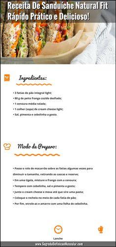 Receita De Sanduíche Natural Fit... ➡ https://segredodefinicaomuscular.com/receita-de-sanduiche-natural-fit-rapido-pratico-e-delicioso/  #receitasfit #EstiloDeVidaFitness #SegredoDefiniçãoMuscular
