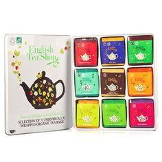 English Tea Shop - Coffret métal thés et infusions
