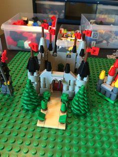 Lego Microscale Castles