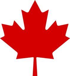 File:Red Maple Leaf.svg