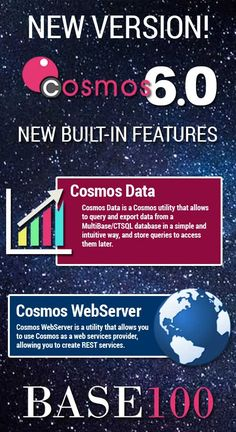 New version Cosmos 6.0. Now available with new built-in features