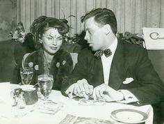 Dick Haymes & second wife, Joanne Dru, first husband, (1941–1949)