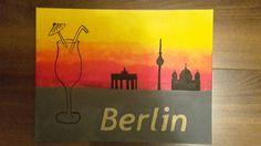 Berlin City Berlin City, Drawings, Painting, Art, Painting Art, Sketch, Paintings, Kunst, Paint