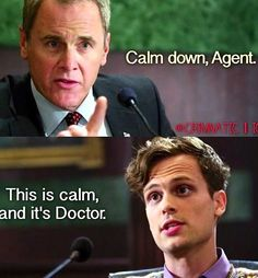 Calm Down Agent. This is Calm, and it's Doctor