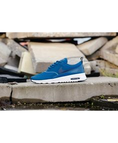 super popular e4f53 919e7 Air Max Thea Industrial Blue Obsidian White Womens Nike Air Max Sale, Cheap