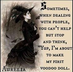 A Little Humor for Your Day – Voodoo Dolls – Witches Of The Craft® Sarcastic Quotes, Funny Quotes, Funny Memes, Funny Sarcasm, Creepy Quotes, Bitchyness Quotes, Silly Memes, Dark Quotes, Witch Quotes
