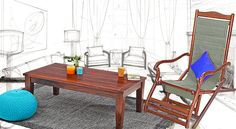 Buying Wooden #Furniture Online – Easy, Convenient and Reliable!! #homedecor