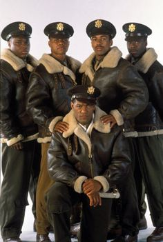 Tuskegee Airmen~Malcolm-Jamal Warner, Cuba Gooding Jr., Laurence Fishburne, Allen Payne, Courtney Vance