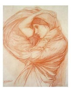 John William Waterhouse Study for Boreas print for sale. Shop for John William Waterhouse Study for Boreas painting and frame at discount price, ships in 24 hours. Trois Crayons, John William Waterhouse, Pre Raphaelite, Inspirational Artwork, Art Graphique, Figure Drawing, Figurative Art, Portraits, Find Art