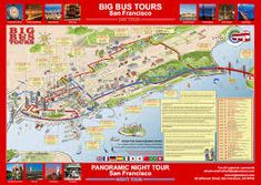 Image result for San Francisco hop on hop off bus route
