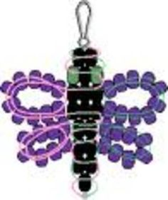 Free Stuff: Butterfly (Pony Bead Pattern) - Listia.com Auctions for Free Stuff