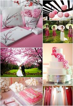 A cherry blossom wedding pretty in pink pinterest spring a cherry blossom wedding pretty in pink pinterest spring wedding themes spring weddings and cherry blossoms junglespirit Image collections