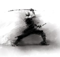 Rough Ninja by hamex.deviantart.com on @deviantART
