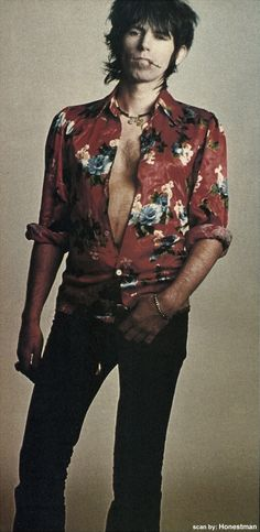 Love this outfit. Keith is always stylish.