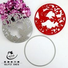 Flowers Metal Cutting Dies Stencils for DIY Scrapbooking/photo album Decorative Embossing DIY Paper Cards(China (Mainland))