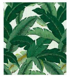 "Upholstery Fabric Tommy Bahama Swaying Palms Aloe 54"" by The Yard | eBay"