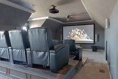 DIY Home Theater - How was the power provided to the platform?