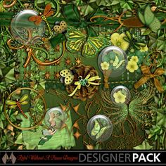 Woodland Fantasy by Rebel Without A Pause Designs