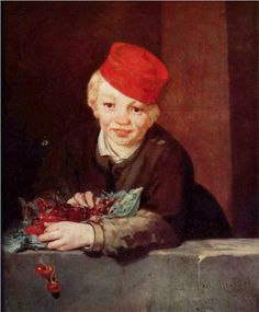 The Boy with Cherries - Edouard Manet