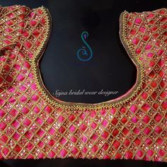 To get your outfit customized visit us at Chennai, Vadapalani or call/msg us at for appointments, online order and further… Wedding Saree Blouse Designs, Saree Blouse Neck Designs, Saree Tassels Designs, Kids Blouse Designs, Maggam Work Designs, Stylish Blouse Design, Designer Blouse Patterns, Work Blouse, Chennai