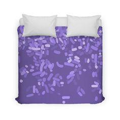 Violet Rain Home Duvet by Project M $155