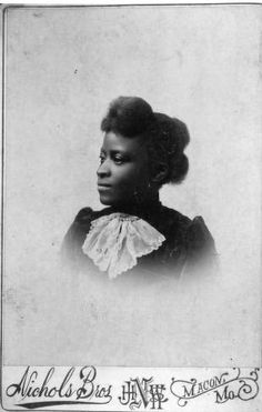 African American Woman :: Missouri State Archives - Photo Collections  1890s