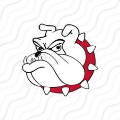 bulldog head logo clipart best reace pinterest logos cricut rh pinterest com free french bulldog clipart free bulldog puppy clipart
