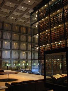Beinecke Rare Book And M Cript Li Ry At Yale University New Haven Conn