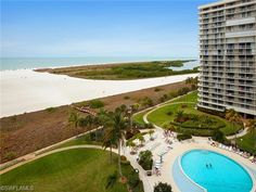260 Seaview Ct #1008, Marco Island, FL - $429,000, 2 Beds, 2 Baths. Beautifully maintained condominium with wonderful views over the pool and Tigertail Beach. Breathtaking sunsets. This home is sold furnished, the living area and both bedrooms have the same great beach view. Two bedroom, two bathroom spacious condominium in gated community on almost 60 acres with boat docks, active tennis club, bocce court,...