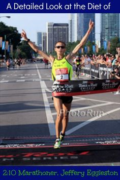 What does the diet of a 2:10 marathoner look like? Jeffrey Eggleston shares his training and race day diets so you can connect the science to the practical.