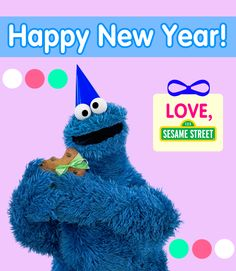 Sesame Street wishes everyone a Happy New Year! We hope 2015 will be an amazing year for all of you!