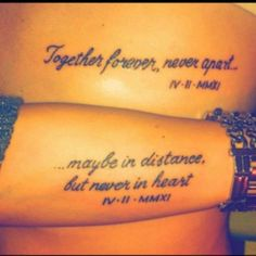 I wanna get this tattoo with my future man