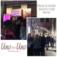 Uno Più Uno en la feria Internacional Show & Order en Berlin!