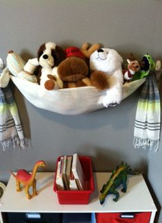 DIY Stuffed Animal Storage - A Stuffed Animal Sling