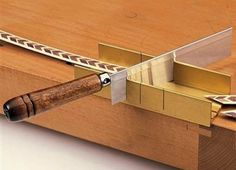 How To: Use a Miter Box
